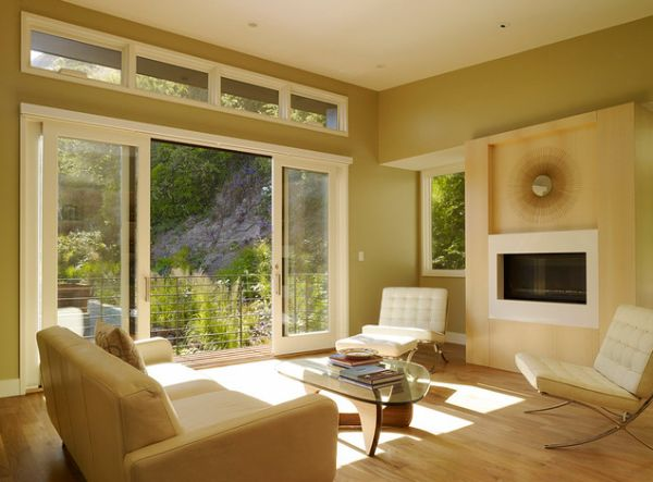40 stunning sliding glass door designs for the dynamic modern home view in gallery warm and soothing interiors look bright and lovely thanks to the sliding glass doors planetlyrics Images