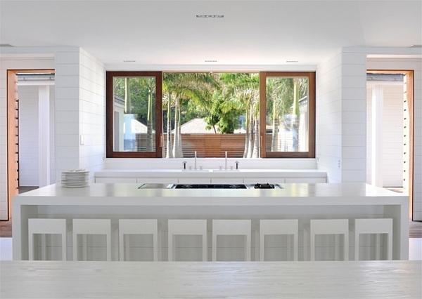 all white kitchen design