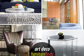 art deco furniture finds