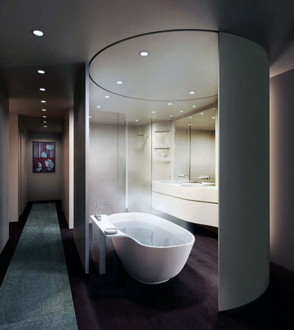 Fancy Privacy Options For the Bathroom