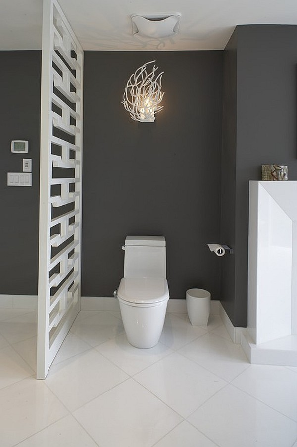 Fancy privacy options for the bathroom - Badkamer wc ...
