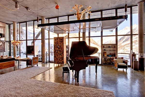beautiful Swiss loft