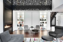 Classy Contemporary Residence With Cool Accents of Grey