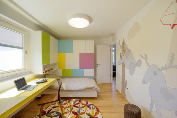 colorful kids bedroom design