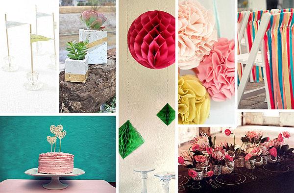diy wedding decor - spring