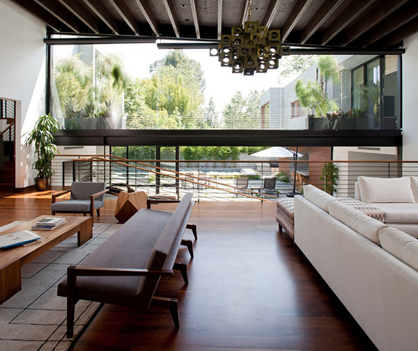 fancy Los Angeles Residence  interiors