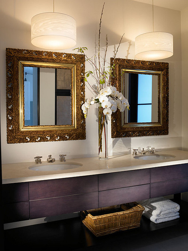 Tall bathroom vanity - Tall Ceilings Can Show Off Tall Arrangements Beautifully This Slender