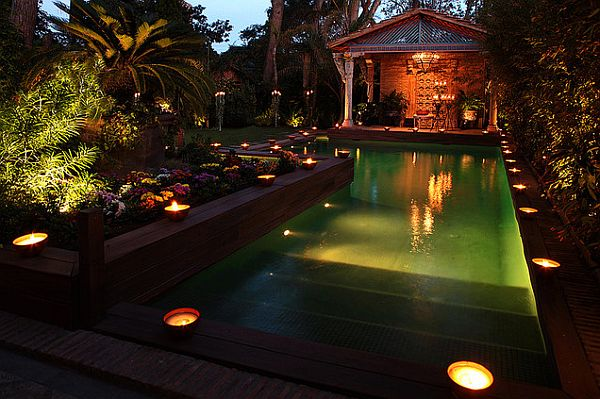 garden lights for the pool