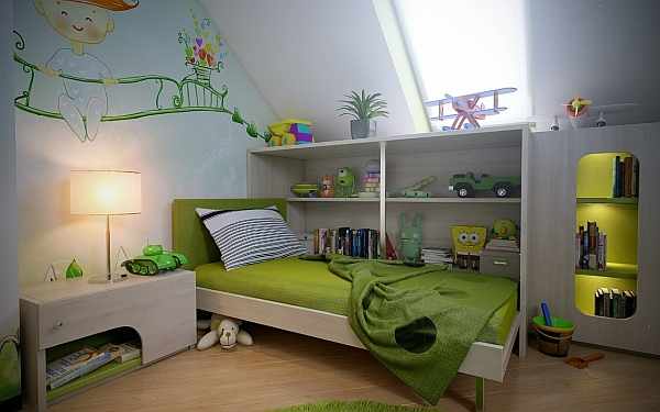 Kids Bedroom Green magical kids bedrooms that will inspire your renovations
