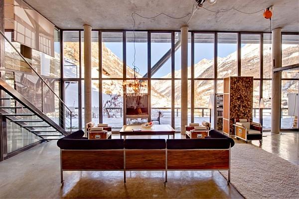 huge loft apartment in Switzerland