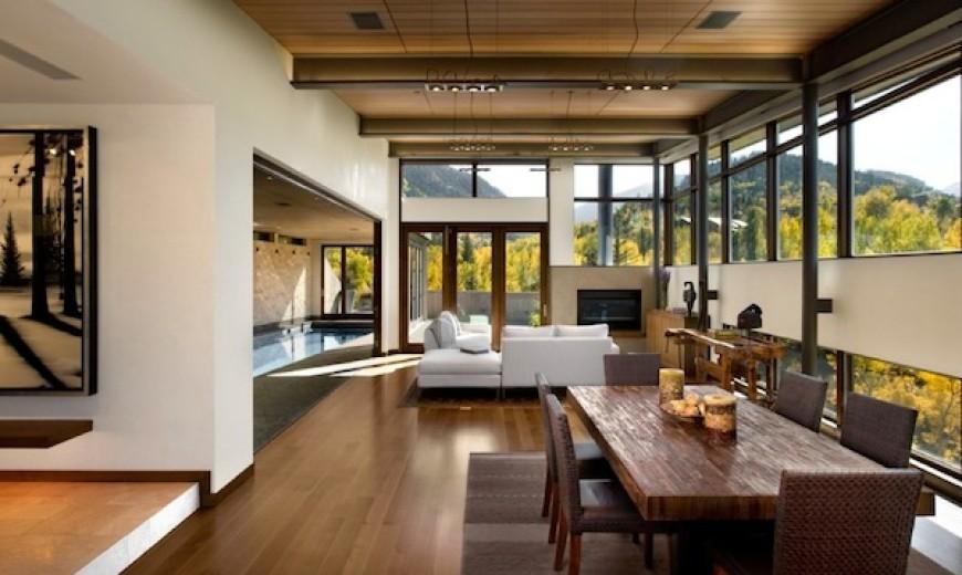 living room open area