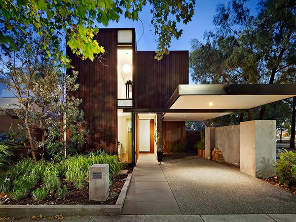 melbourne home 1 Modern Home in Melbourne by Robert Simeoni Blends Simplicity With Style