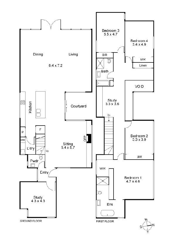 melbourne home 14 - house plans
