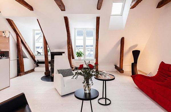 minimalist Scandinavian apartment