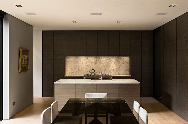 minimalist kitchen - Auckland
