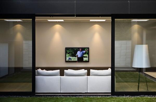 minimalist living room - auckland
