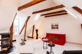 Modern Apartment With Classic Details in Stockholm's Gamla Stan
