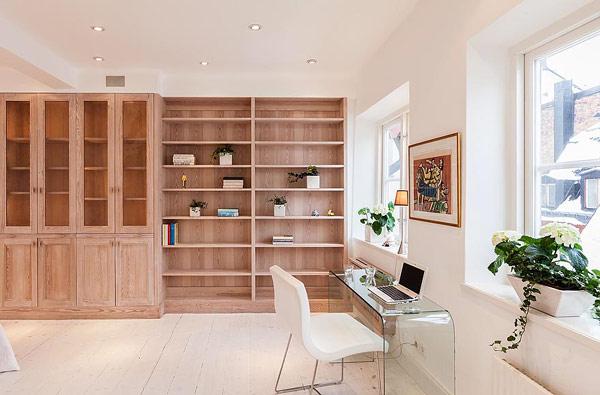 modern Scandinavian apartment