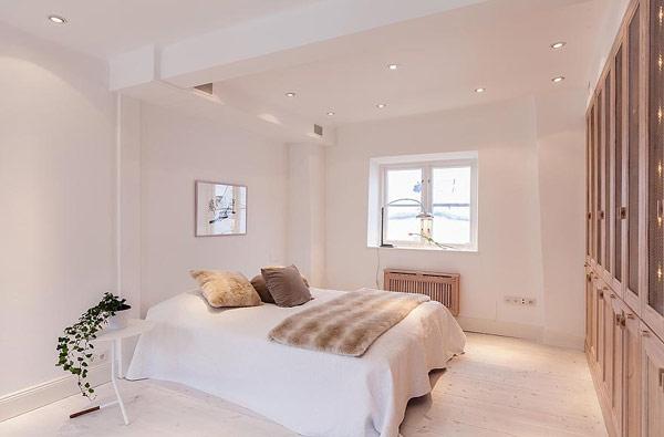 modern Scandinavian bedroom design