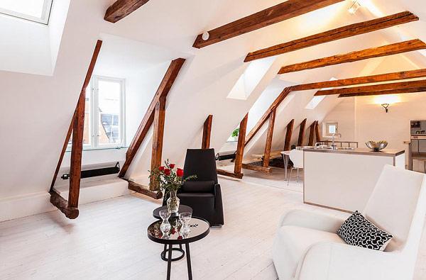 modern apartment in Stockholm gamla stan Modern Apartment With Classic Details in Stockholms Gamla Stan