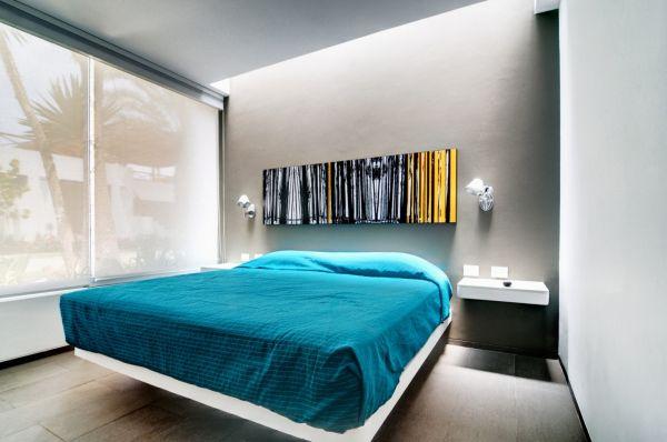 modern bedroom - Lima, Peru