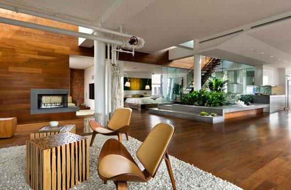 modern interior garden