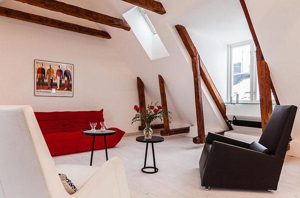 modern swedish apartment