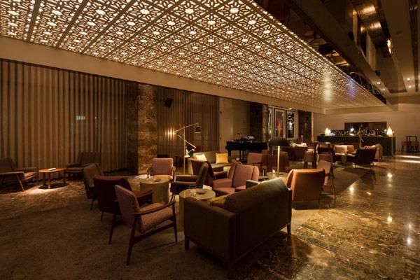 oriental design bar
