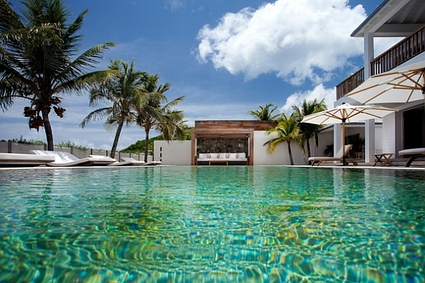 private pool villa in the caribbean