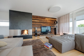 Nussberg Penthouse in Vienna: Bright and Casual Interiors that offer Ample Views