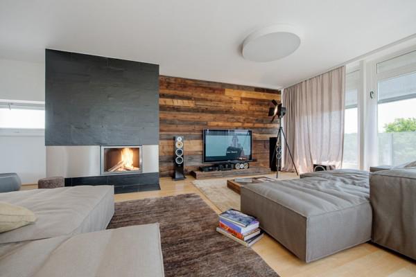 rustic modern apartment