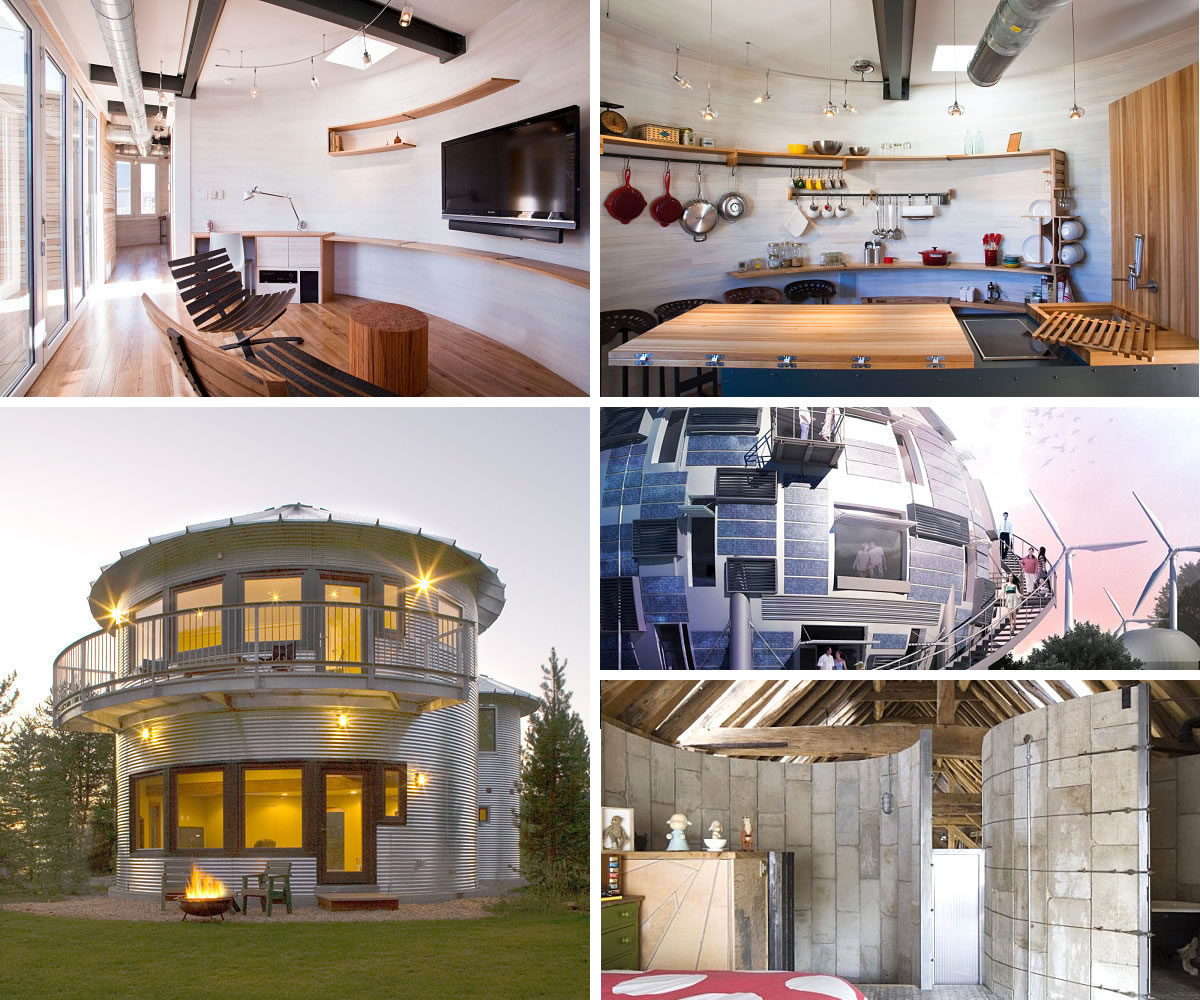 Underground Bunker Floor Plans Upcycled Silos Turned Homes
