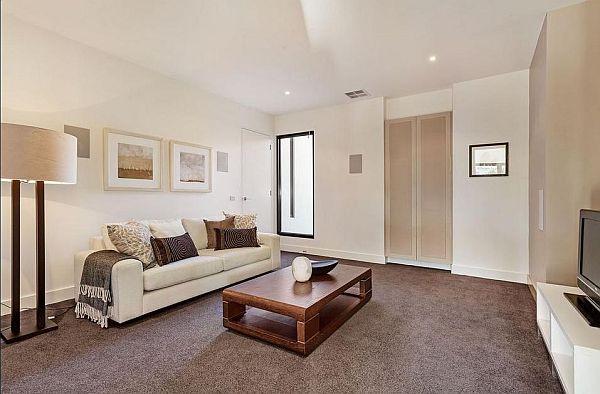 simple living area design
