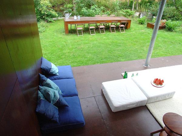 small cozy patio