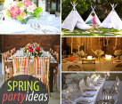 spring party ideas decorations