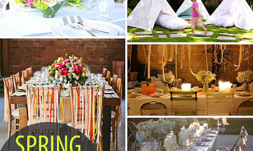 20 colorful spring party ideas junglespirit