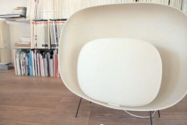 Animation of Light! Stewie Floor Lamp by Luca Nichetto for Foscarini