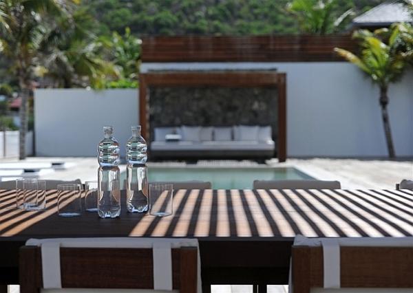 stunning outdoor patio – caribbean villa