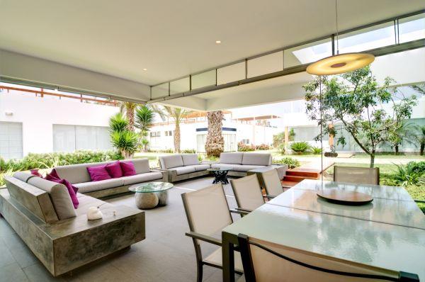 stylish living room with detachable windows – Lima, Peru