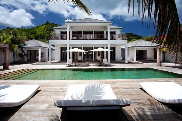 stylish villa in St Barts Stunning Caribbean Villa Is The Ultimate Luxury Retreat Draped In Extravagance