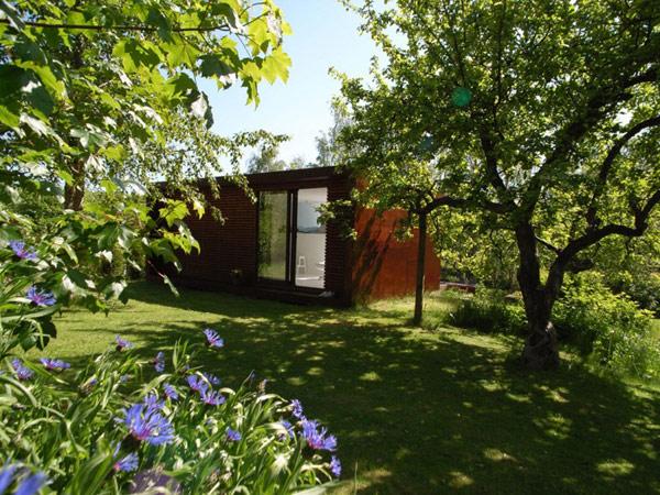 summer retreat backyard