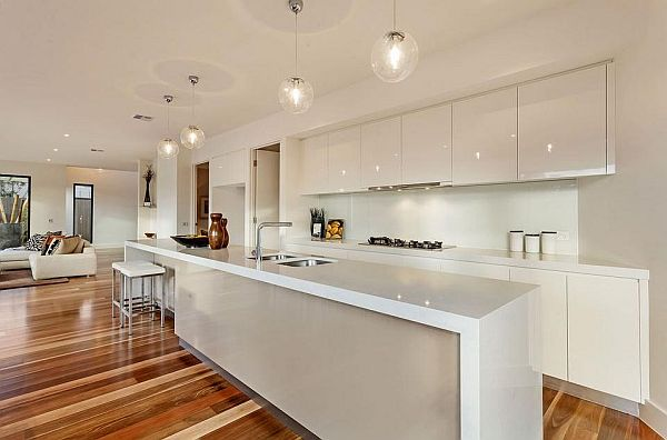 modern kitchen designs melbourne melbourne home blends luxurious interiors with 750