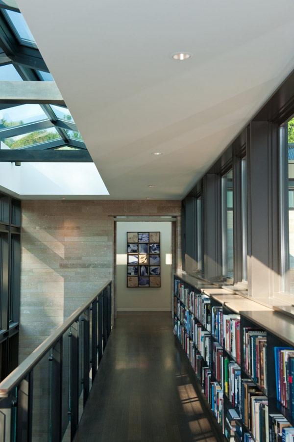 upper floor bookcase