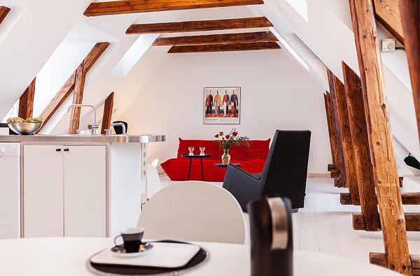 white Scandinavian apartment
