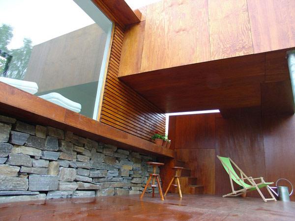 wooden summer retreat