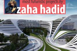 15 Most Futuristic Architecture Projects of Zaha Hadid