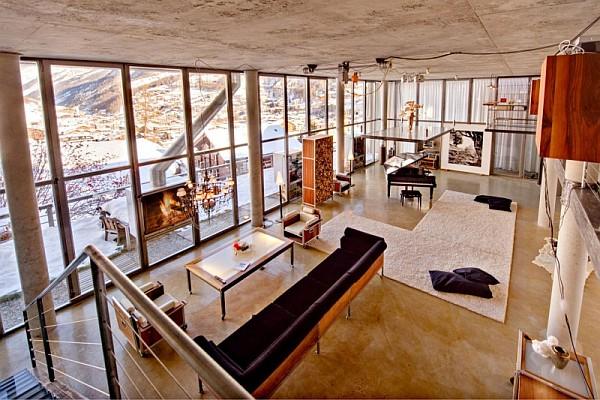 Heinz julen loft offers lavish comforts amidst majestic for Dekor wohnungen