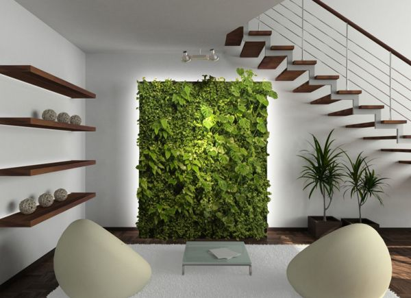 Add a living green wall to your minimalist dream as well Celebrate This Earth Day With Green Living Wall Installations For Your Modern Interiors