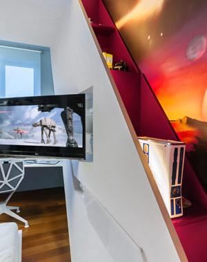 Ample natural ventilation for the kids' bedroom
