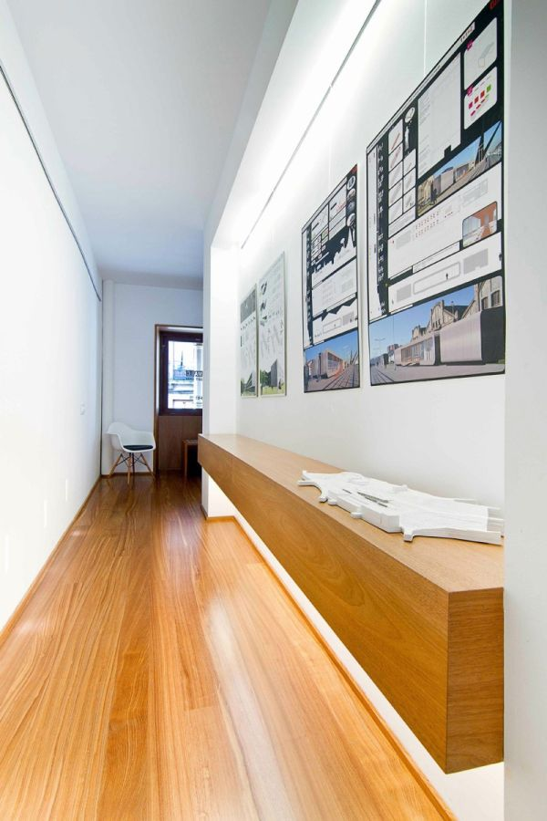 Architecture studio designed along with the living space